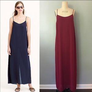 J. Crew Dresses - NWOT Jrew crepe maxi dress